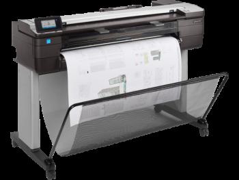 HP DesignJet T830 Large Format Multifunction Wireless Plotter Printer