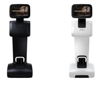 Temi Personal Service Robot with Self-Charging Dock