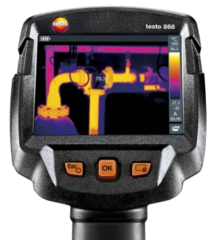 Testo 868 Highest Image Quality Thermal Imager