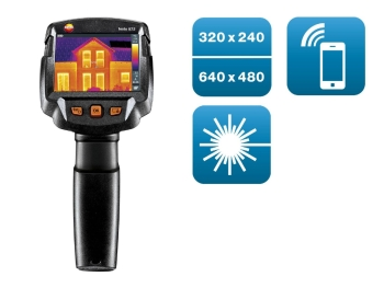 Testo 872 Highest Image Quality Thermal Imager