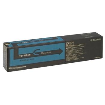 Kyocera Mita TK-8705 Cyan Toner Cartridge