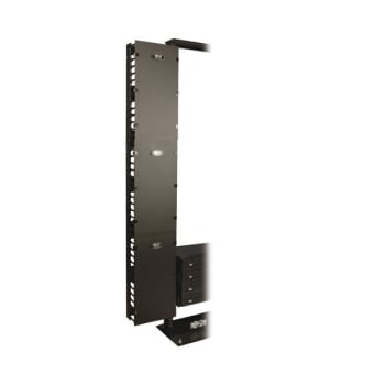 Tripp Lite SmartRack 12 in. Wide High Capacity Vertical Cable Manager, Double Finger Duct with Cover