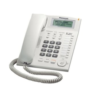 Panasonic KX-TS880 Corded Telephone with Caller ID & Speakerphone