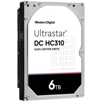 Western Digital HC310 3.5'', 6TB, 256MB, 7200 RPM, SATA 6Gb/s Hard Drive
