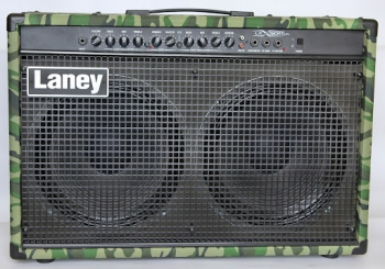 Laney LX120RT-CAMO Twin Channel Electric Guitar Combo