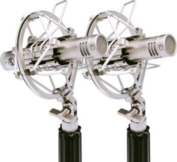 Warm Audio WA84-OC-N-ST Omni & Cardioid Capsules With Stereo Microphone Pair