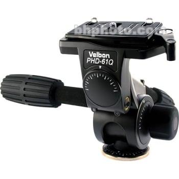 Velbon PHD-61Q Magnesium 3-Way Sockethead