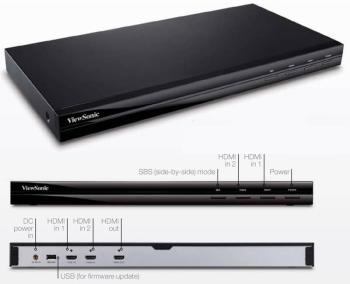 ViewSonic VP3D1 3D HD Video Processor