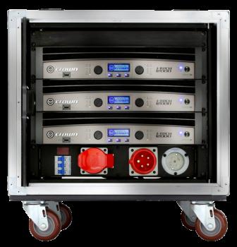 Crown VRack 12000HD 3 12000HD Amplifier Rack