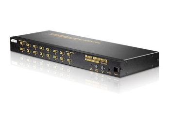 Aten VS1601 16-Port Video Switch With IR Remote Control Unit