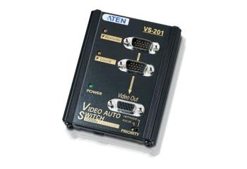 Aten VS201 2-Port VGA Switch Wall Plate