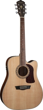 Washburn WD10SCE Dreadnought Cutaway Acoustic Guitar