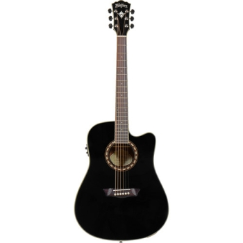 Washburn Heritage 10 Series WD10SCEB Acoustic-Electric Guitar