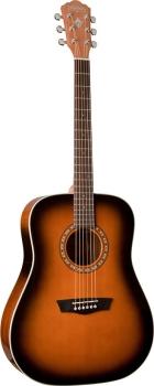Washburn WD7SATBM Dreadnought 6 String Acoustic Guitar