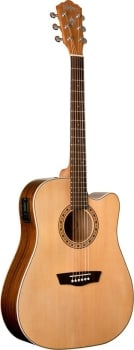 Washburn WD7SCE Dreadnought Cutaway Acoustic Guitar With EQ
