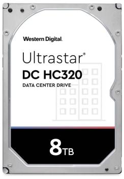 Western Digital HC320 3.5'', 8TB, 256MB, 7200 RPM, SATA 6Gb/s Hard Drive