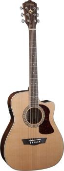 Washburn WF11SCE Folk Style 6 String Acoustic Cutaway Guitar
