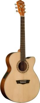 Washburn Harvest WG7SCE Grand Auditorium Acoustic-Electric Guitar