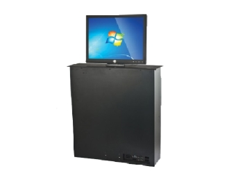 "Anchor ANDTMLCX185H Desktop Monitor Lift  - With 18.5"" Monitor + Mic Lift"