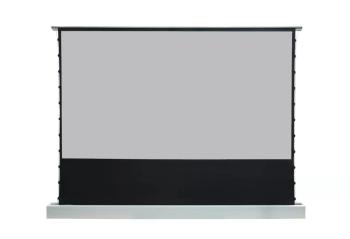 "DMInteract EDL83 Series 100"" Motorized Floor Rising Projector Screen"