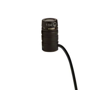 Shure WL184 Supercardidioid TQG Lavalier Microphone