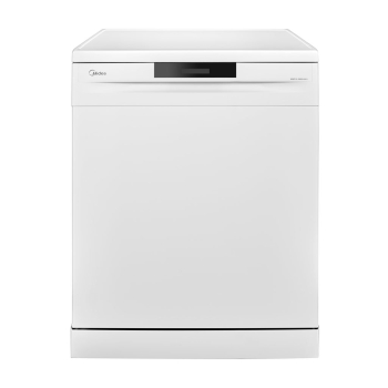 Midea WQP147605V-W Freestanding Dishwasher - 14 Place Setting
