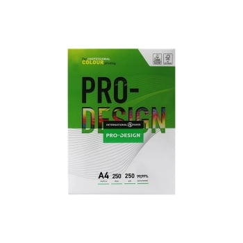 DM XTP00049 A4 Pro Design 250 GSM Copier Paper - Pack of 4 Reams