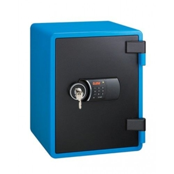 Eagle YES-031DK Fire Resistant Safes Digital And Key Lock (Blue)