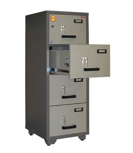 Valberg FC 4K-KK 4 Drawer Fireproof File Cabinet