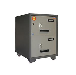 Valberg FC 2K-KK Fire Resistant 2 Drawer Filing Cabinet