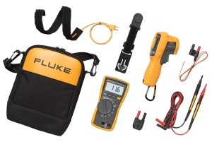 Fluke HVAC Multimeter and IR Thermometer Combo Kit  Fluke 116/62
