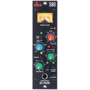 dbx 580 Mic Preamp 500 Series Module