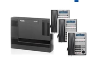 Nec SL1000 PABX System Bundle Set of 3 - IP Phones
