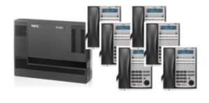 Nec SL1000 PABX System Bundle Set of 6 - IP Phones