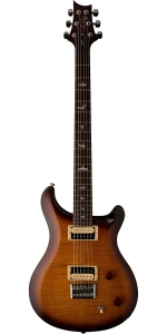 PRS 277TS2 SE 277 Baritone Electric Guitar in Tobacco Sunburst Finish
