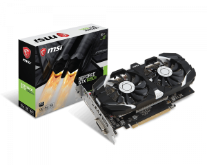 MSI 912-V809-2682 GeForce GTX 1050 Ti 4GT OCV1 Graphic Card