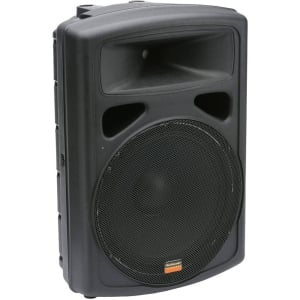 "Studiomaster VPX15 Active 15"" 400 Watts Moulded PA Speaker"