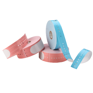 "DM T6 Childrens Pink 8.4"" Label Thermal Wristband"