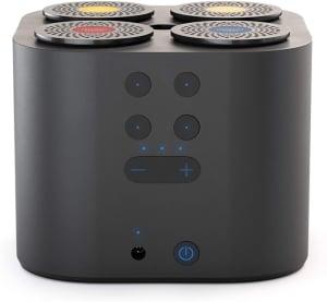Moodo Smart and Stylish Scent Diffuser Includes 4 Scent Capsules - Black