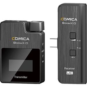 Comica Audio BoomX-D UC1 Ultracompact Digital Wireless Microphone System