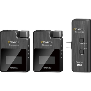 Comica Audio BoomX-D UC2 Ultracompact Digital Wireless Microphone System