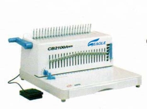 Eagle Electric Comb Binding Machine CB 2100A Plus