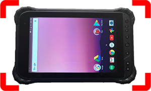 """Firehawk FT-810 Rugged Tablet 8.0"""" Display (Qualcomm Octacore, 3GB RAM, 32GB, Android 7)"""