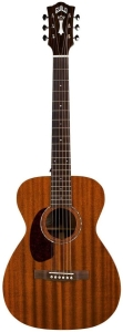 Guild M-120LE Left-Handed Acoustic-Electric Guitar in Natural