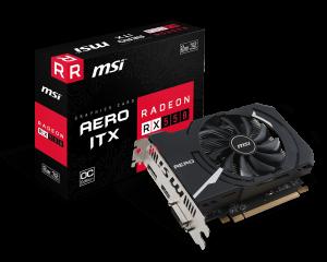 MSI 912-V809-2466 VGA Radeon RX 550 Aero ITX 2G OC Graphic Card