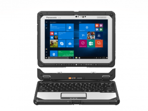 """Panasonic CF-20 2in1 10.1"""" Touch Display Toughbook (Intel Core m5-6Y57, 8GB, 256GB SSD)"""