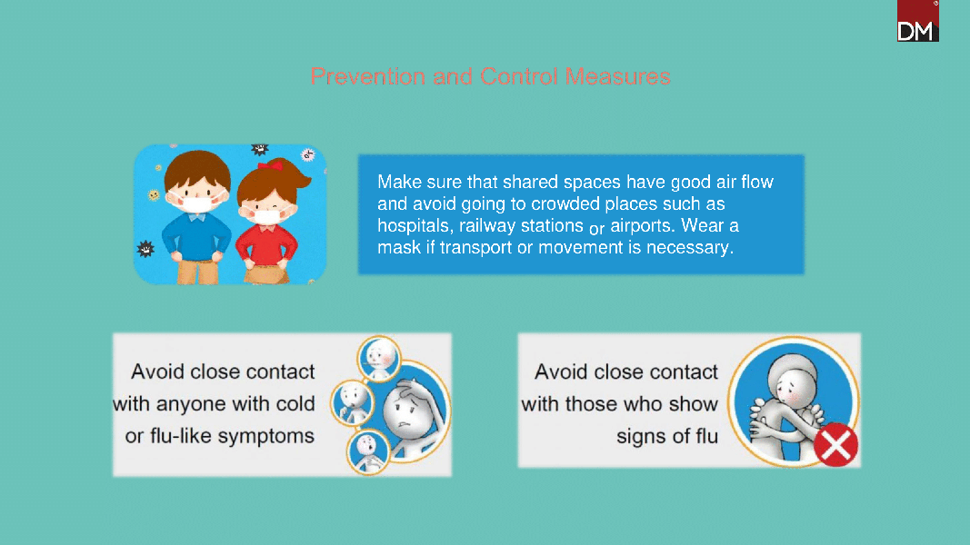 COVID-19 Prevention and Control