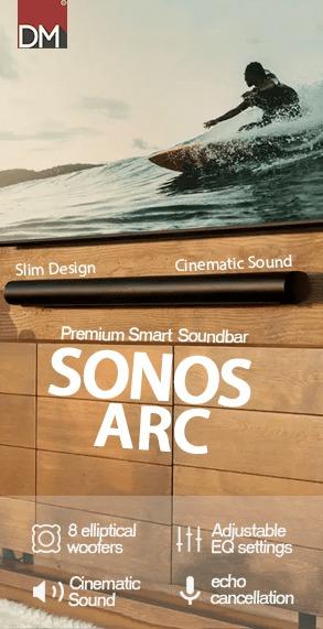 Sonos Arc Premium Smart Soundbar For Music & Gaming
