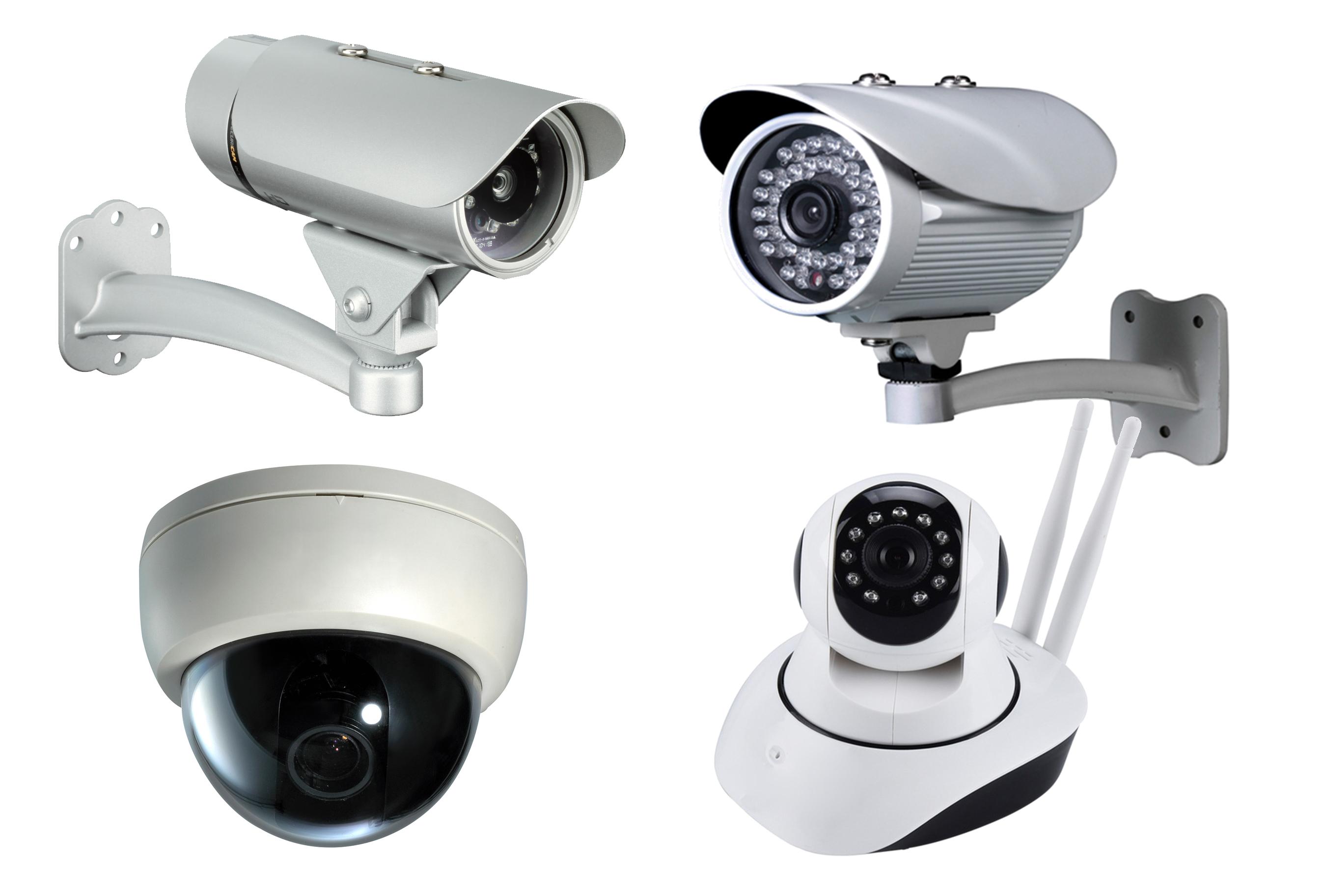 Landing page IP/CCTV Cameras