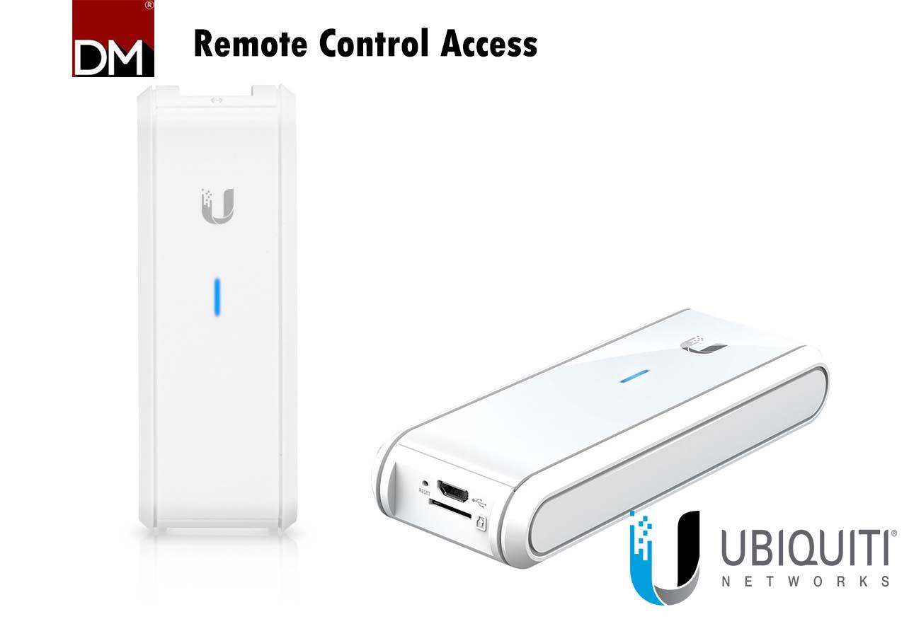 Remote Control Access Landing Page